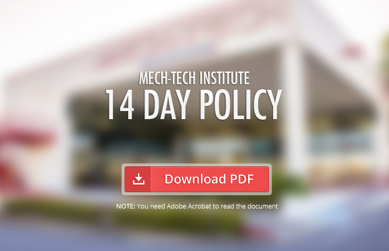 Mech-Tech-Institute-14-Day-Policy