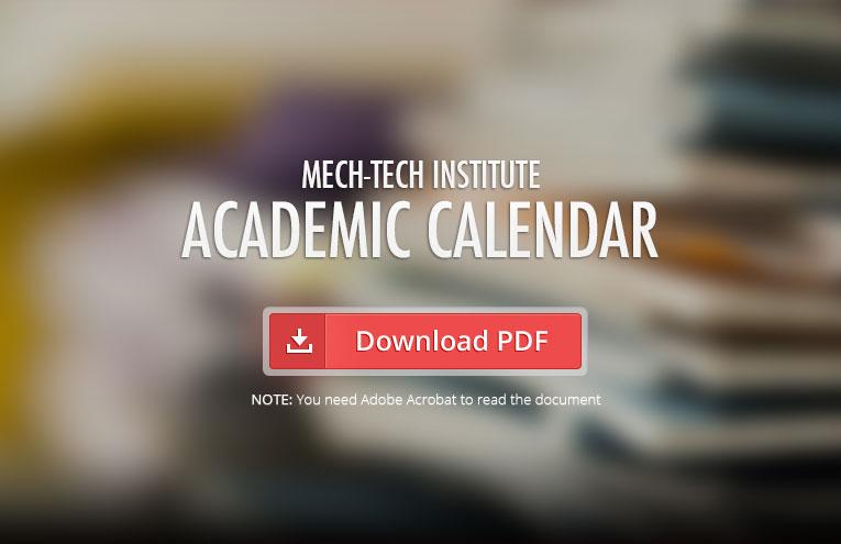 Mech-Tech-Institute-Academic-Calendar