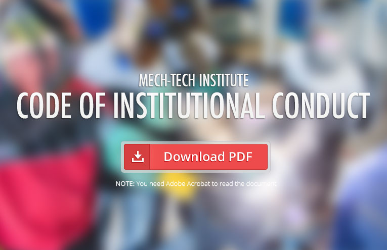 Mech-Tech-Institute-Code-of-Institutional-Conduct