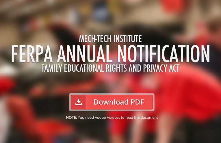 Mech-Tech-Institute-FERPA-Annual-Notification