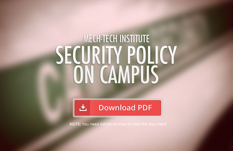 Mech-Tech-Institute-Security-Policy-on-Campus
